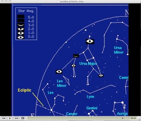 eye star magnitude