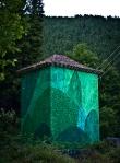 reforestando y objeto encontrado (tejado)